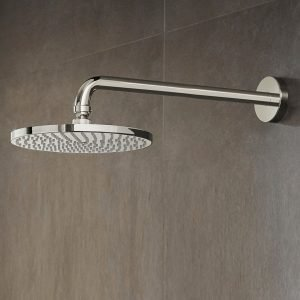 Image of a smart overhead shower head.