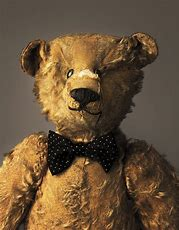 Image of a battered teddy bear
