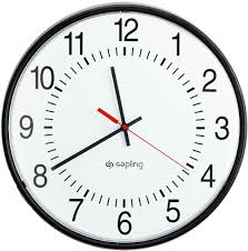 Image of a clock face
